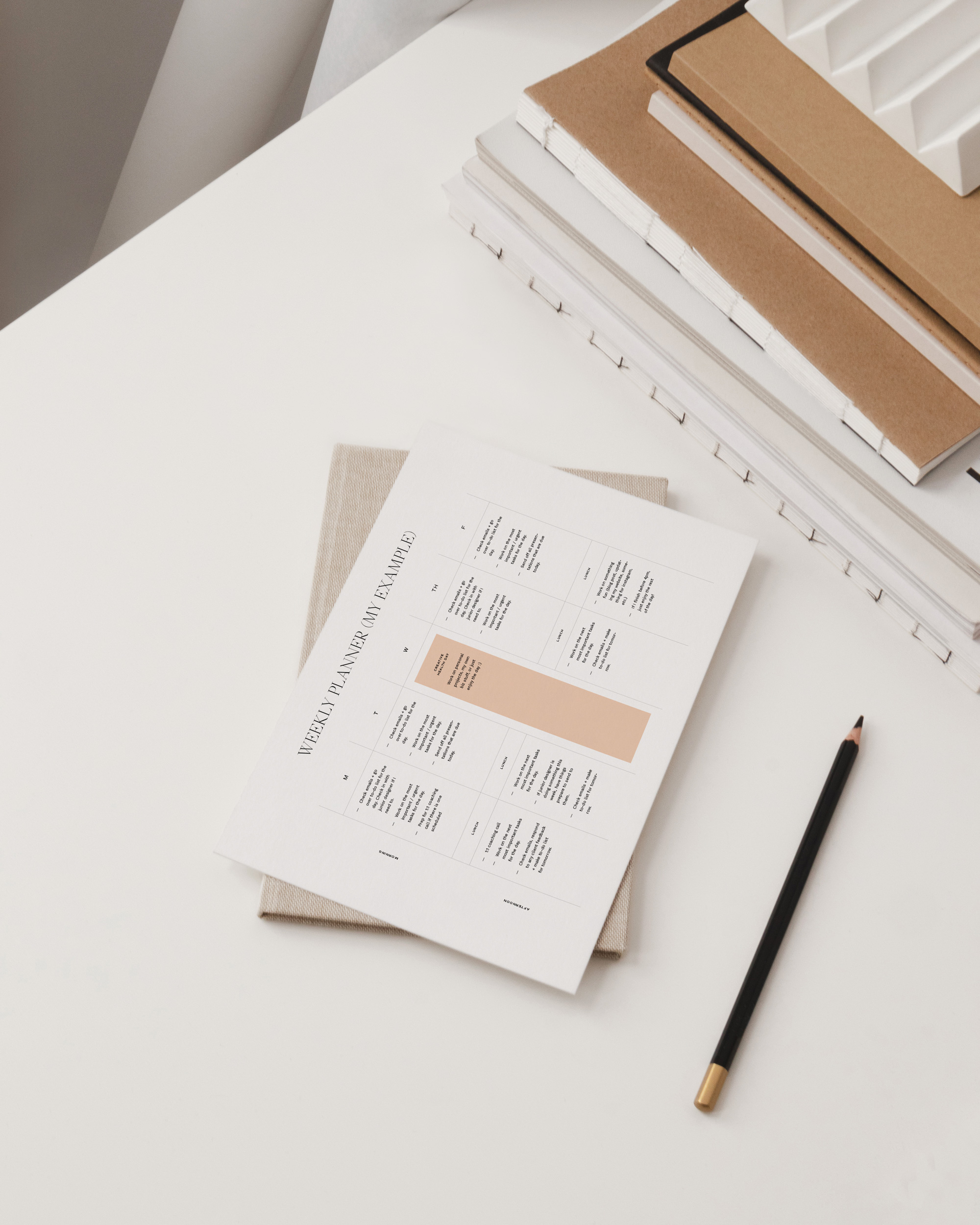 Workload and Project Planner Template